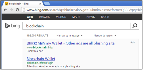search-engine-phishing-example